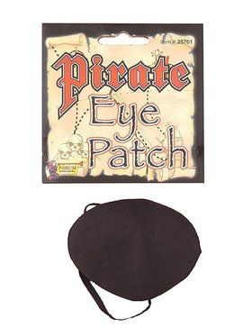 Black Pirate Eye Patch