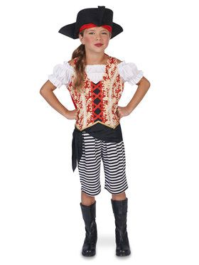 Pirate Girl Child Costume for Halloween