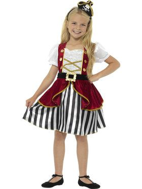 Pirate Girl Costume Deluxe