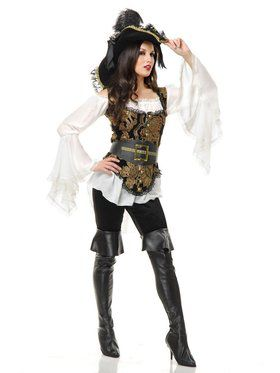 Women's Pirate Lady Costume