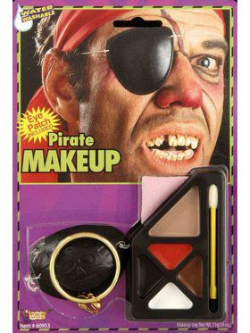 Pirate Make Up Set