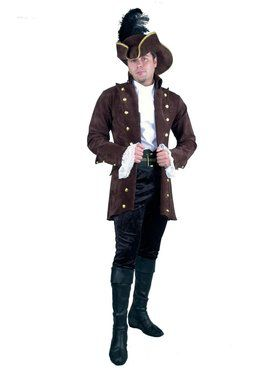 Men's Pirate of the Caribbean Suede Jacket