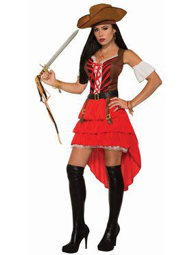 Adult Pirate Vixen Costume