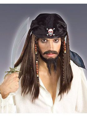 Pirate Wig Adult