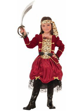 Pirateer Girl's Costume