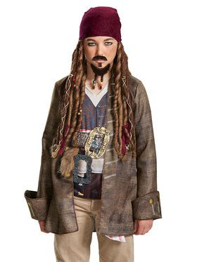 Pirates of the Caribbean 5: Goatee Mustache Adult