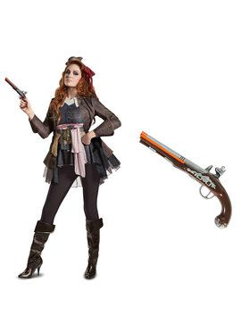 Pirates of the Caribbean Captain Jack Female Deluxe Adult Costume