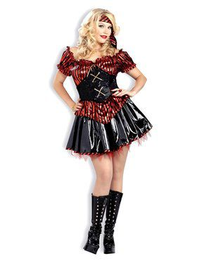 Pirates Pleasure Adult Plus Costume