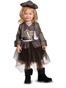 Pirates of the Caribbean 5: Captain Jack Inspired Tutu Classic Toddler Costume