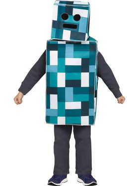 Pixel Boy's Costume