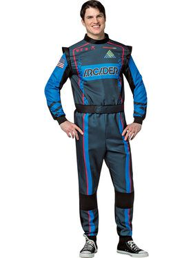Pixels Arcader Suit Men's Costume