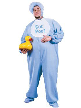 Pj Jammies Adult Plus Men Costume