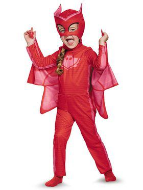 PJ Masks Owlette Classic Costume Toddler