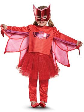PJ Masks Owlette Prestige Tutu Child Costume