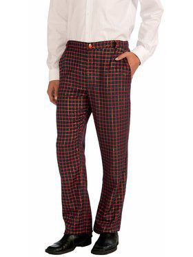 Plaid Christmas Pants Men's