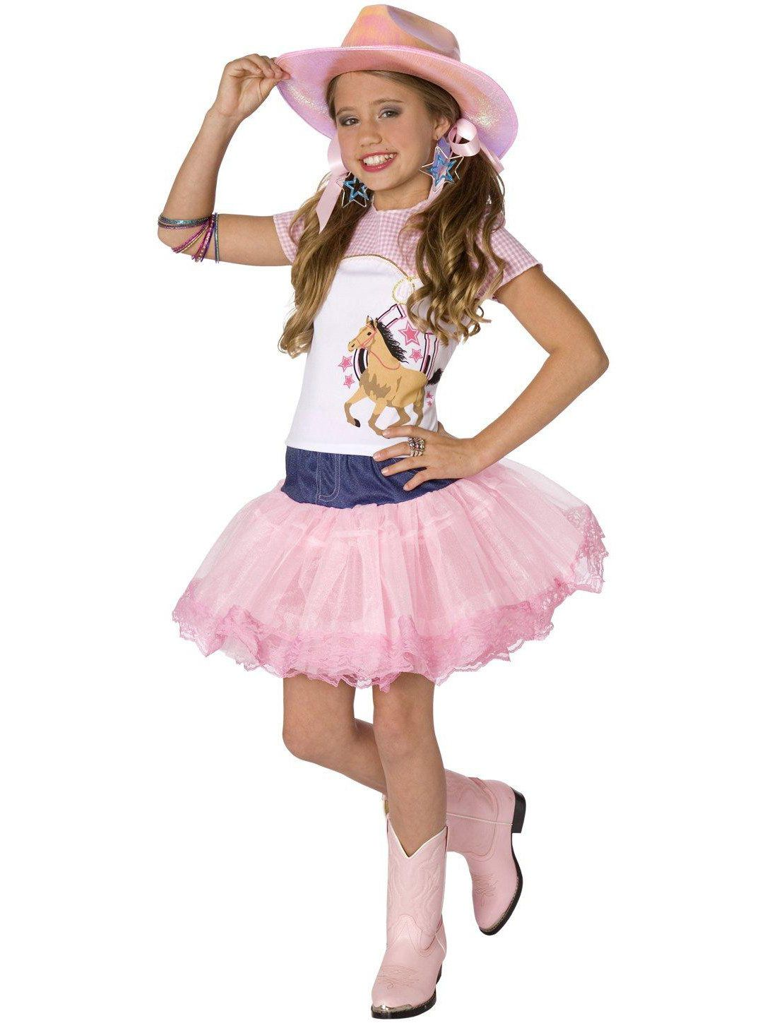 planet pop star cowgirl costume for children