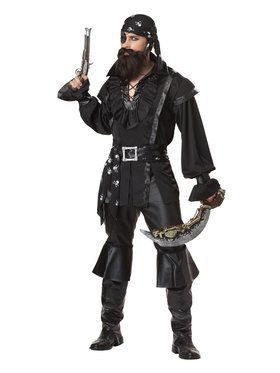 Plundering Pirate Men's Costume