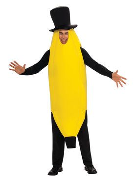 Plus Banana Adult Plus Size Costume