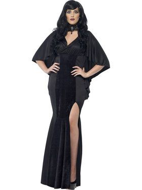 Plus Size Adult Curves Vamp Costume