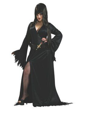 Adult Elvira Plus Size Costume