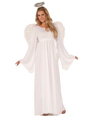 Plus Size Angel Costume for Women