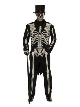 Bone Chillinu0027 Mens Plus Size Costume  sc 1 st  Wholesale Halloween Costumes : jason from halloween costume  - Germanpascual.Com