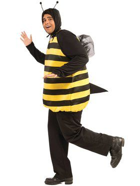 Plus Size Bumble Bee Adult Plus Size Costume