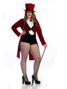 Circus Sweetie Plus Adult Costume