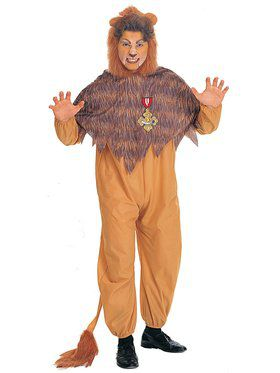 Plus Size Cowardly Lion Adult Costume