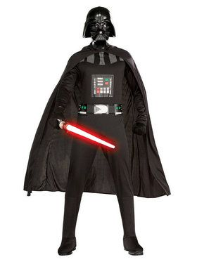 Plus Size Darth Vader Men's Costume