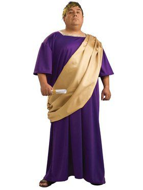Plus Size Deluxe Caesar Mens Costume