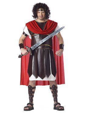 Plus Size Hercules Costume for Adult
