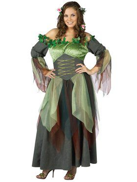 Plus Size Mother Nature Womens Costume