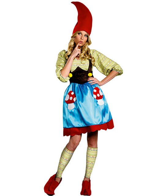 Adult Plus Size Ms Gnome Costume for Women costumes