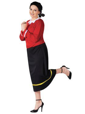 Plus Size Olive Oyl Womens Costume
