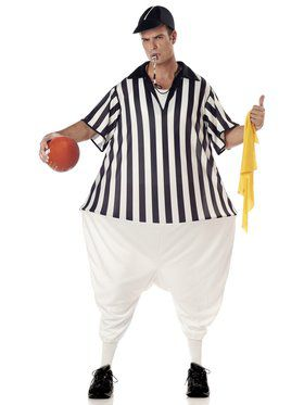 Referee Costume for Adults
