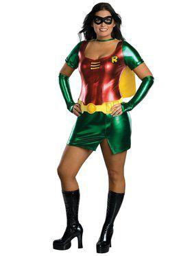 Plus Size Robin Womens Costume