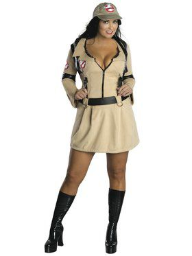 Plus Size Sexy Ghostbusters Womens Costume