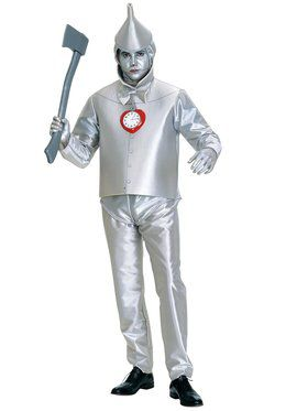 Plus Size Tin Man Adult Costume