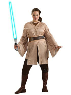Plus Size Womens Jedi Costume