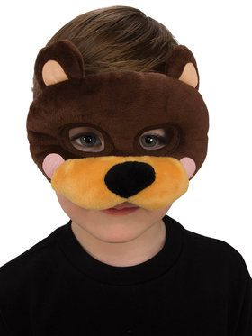 Plush Bear Eye Mask for Children
