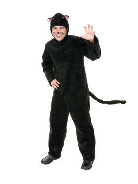Adult's Plush Cat Costume