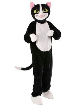 Adult Plush Catnip The Cat Mascot Costume