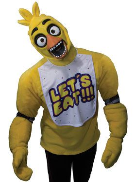 Plush Five Nights at Freddy's Adult Chica Costume