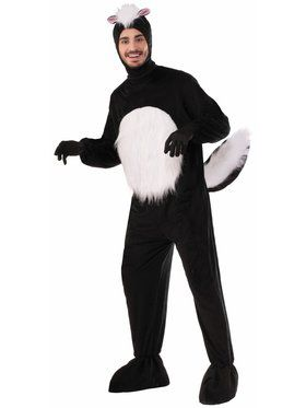 Plush Skunk One Size Adult Costume