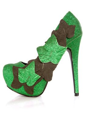Poison Ivy 4 1/2 Stiletto Heel