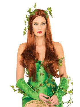 Poison Ivy Adult Headband