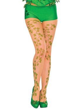 Poison Ivy Pantyhose For Women