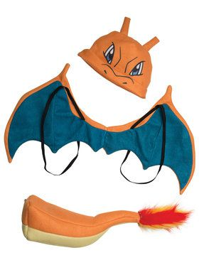 Pokemon Charizard Costume Kit