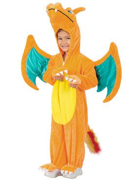 Pokemon Charizard Jumpsuit Toddler Costume